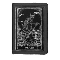Death Card Tarot trifold wallet