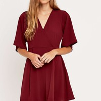 Cooperative by Urban Outfitters Wrap Dress - Urban Outfitters