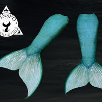 Custom Painted Silicone Mermaid Tail