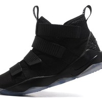 Best Deal Online Nike LeBron Soldier 11 Black Men Basketball Sneakers Sports Shoes