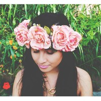 Whimsical Fairy Flower Crown