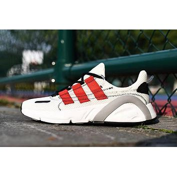 Adidas Lxcon Unisex Casual Fashion Retro Running Shoes White Black Red