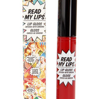 The Balm Read My Lips Wow! Red Lip Gloss