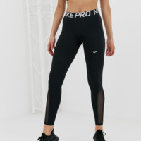 Nike Pro Training Leggings In Black
