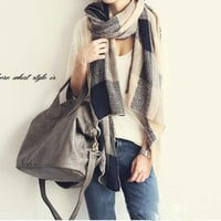 Fashion Women Warm Winter Scarf Shawl Knitting Wool Long Soft Scarves Wraps scarf shawl = 1957912516