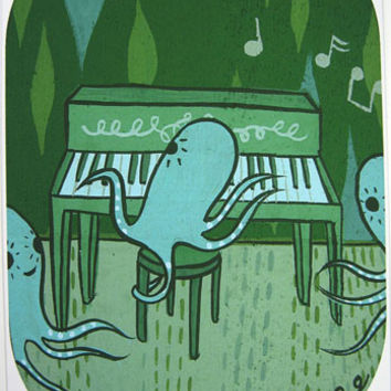Sale: Pianocto Art Print (Signed)