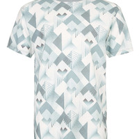 Taxonomy Airbrush All Over Print T-Shirt - T-Shirts & Tanks - New In - TOPMAN USA