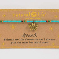 Natural Life Friends Giving Bracelet