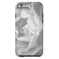 Black And White Rose iPhone 6 Case