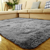 Long Fluffy Anti-skid Shag Area Rug Home Kids Bedroom Living Room Floor Mats Door Mat 80x120cm