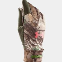 Under Armour WOMEN's Scent Control Gloves (Realtree AP Xtra) 1231147-946