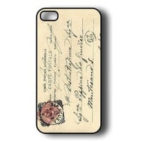 Amazon.com: iPhone 5 Case - Thin Shell Plastic Case iPhone 5 Case - Vintage Italy Postcard: Cell Phones & Accessories