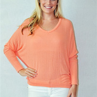 Just Another Day Top (Peach)