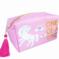 Simply Southern Preppy Collection One of a Kind Unicorn Cosmetic Bag by Simply Southern