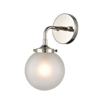 Boudreaux - Sconce - Polished Nickel