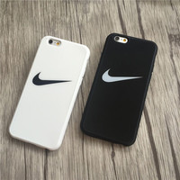 Stylish Nike Hook Print iPhone 6.6 Plus & 7 7 Plus Cover Case + Gift Box