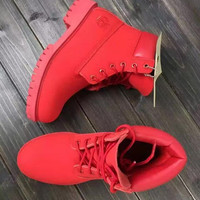 """""""Timberland"""" Boos With Fur Upper Leather Wheat"""