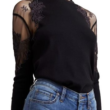 Free People Daniella Lace Top | Nordstrom