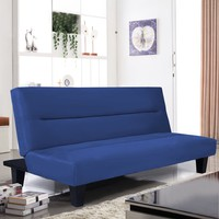 "Hot!! Microfiber Futon Folding Couch with 6"" Mattress Sleep Recliner Furniture Lounger."