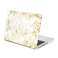 Hard Case Print Frosted (Swirling Paint Pattern) for 13 Macbook Pro with Retina Display