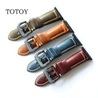 TOTOY Handmade Leather Retro Strap