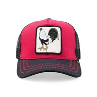 Trucker Hat -  Rooster Black/Red