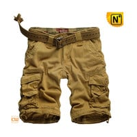 Belted Cargo Shorts for Men CW140061