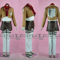 Custom Mikasa Costume from Attack on Titan - Tailor-Made Cosplay Costume