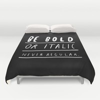 NEVER Duvet Cover by WASTED RITA
