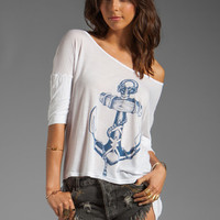 291 Anchor Uneven Hem Top in White from REVOLVEclothing.com