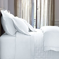 Triomphe White Bedding by Yves Delorme