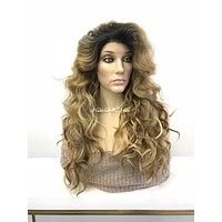 Brazilian frontal lace front wig - Fruitful 318 12*