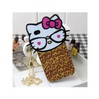 SODIAL Big Head Hello Kitty Back Cover Case for iPhone4 and iPhone4S