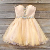 Spool Couture Pale Bloom Dress