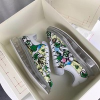 Alexander Mcqueen Graffiti Oversized Sneakers With Air Cushion Sole Reference #0124 - Best Deal Online