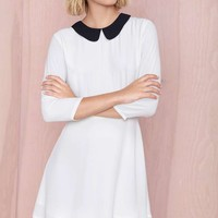Nasty Gal Wendy Dress - White