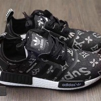 Adidas x Gucci x Louis Vuitton x Supreme NMD Trending Running Sports Shoes Sneakers3