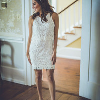 Call Me Maybe Bridal Dress in White