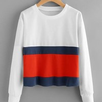Retro inspired pullover sweater  top