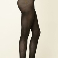 Ribbed Knit Tights