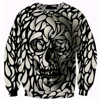 Cloudstyle2017 top fashion 3d skull print mens sweatshirts hoodies cotton\polyester collar hombre hoodies sweatshirts mens S-5XL