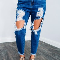 So Obsessed Jeans: Dark Denim
