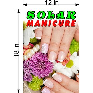 Solar 07 Wallpaper Fabric Poster Decal with Adhesive Backing Wall Sticker Decor Nail Salon Sign Vertical