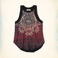 Paneled Graphic Tank