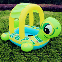 Tortoise Inflatable Swimming Pools Accessories Baby Plastic Kids Children Toddler Baby Seat Float for 0-3years