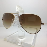 New Ray Ban Sunglasses RB 3025 001/51 rb3025 62MM ARISTA/BROWN GRADIENT LENS