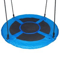 """Fabric 40"""" Giant Saucer Swing, Blue"""