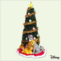 Disney - Lady And The Tramp - 2005 Hallmark Ornament