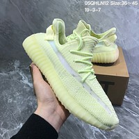 Adidas Yeezy Boost 350V2 Shockproof leisure running shoes