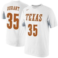 Nike Kevin Durant Texas Longhorns Future Star Jersey Replica T-Shirt - White